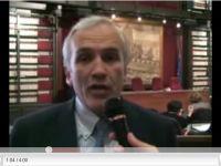 Intervista a Flavio Lotti durante la conferenza stampa di presentazione del Premio Ilaria Alpi